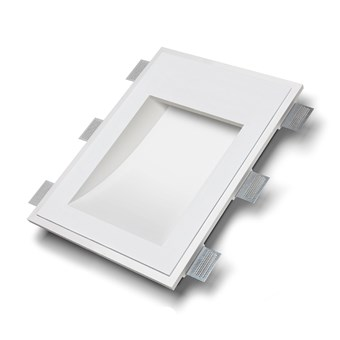 9010 Volte 2416C Plaster In Recessed Wall Light