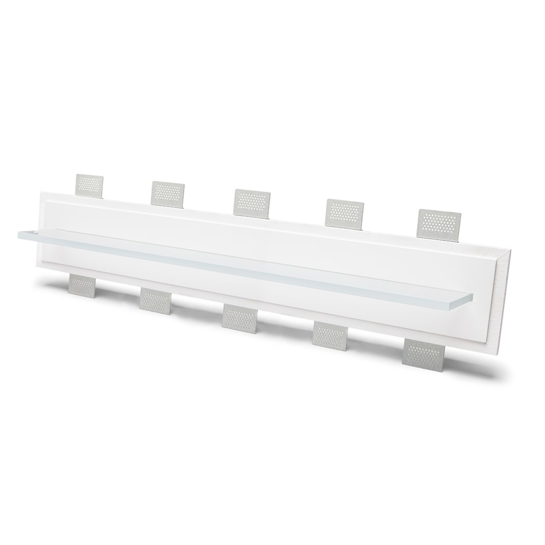 9010 2484C Plaster In Recessed Wall Light| Image : 1
