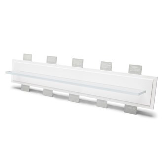 9010 2484C Plaster In Recessed Wall Light