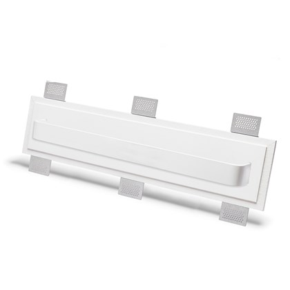 9010 2485C Plaster In Recessed Wall Light