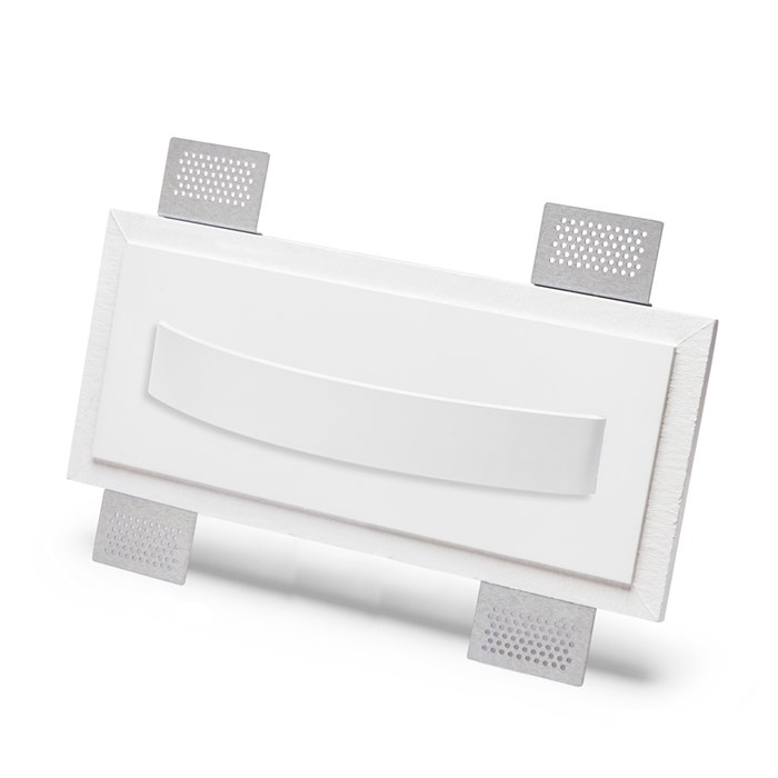 9010 2486A Plaster In Recessed Wall Light| Image : 1