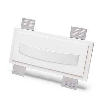 9010 2486A Plaster In Recessed Wall Light