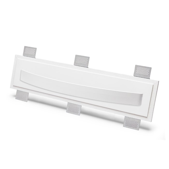 9010 2486B Plaster In Recessed Wall Light| Image : 1