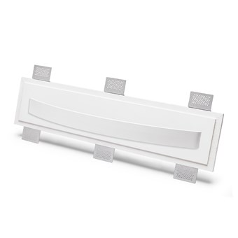 9010 2486B Plaster In Recessed Wall Light
