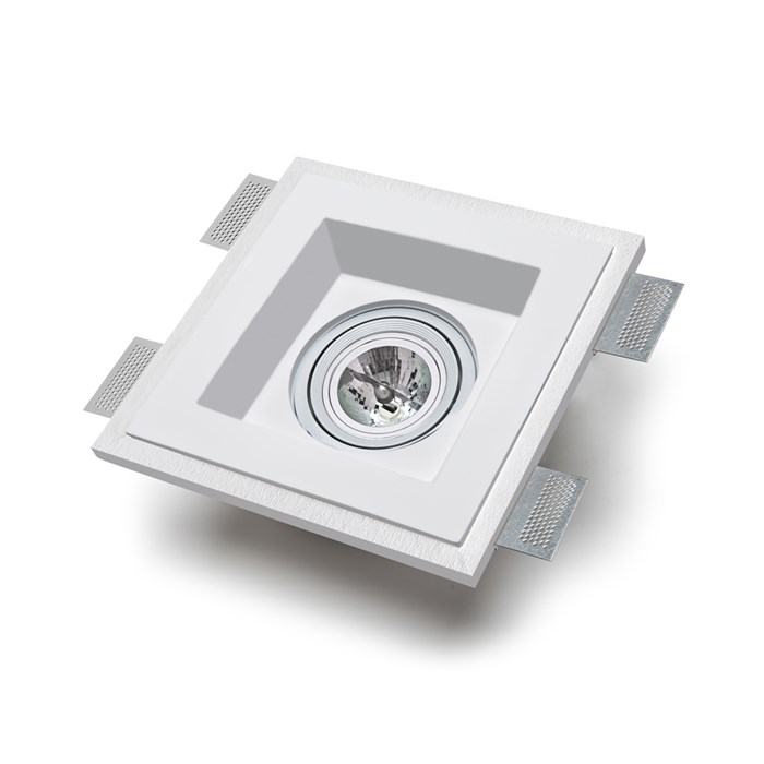9010 Master 4040B Plaster In Adjustable Ceiling Light| Image : 1
