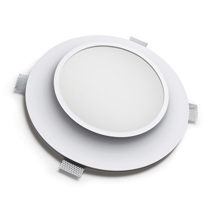 9010 Bolle 4114 Plaster In Recessed 240V Ceiling Light| Image : 1