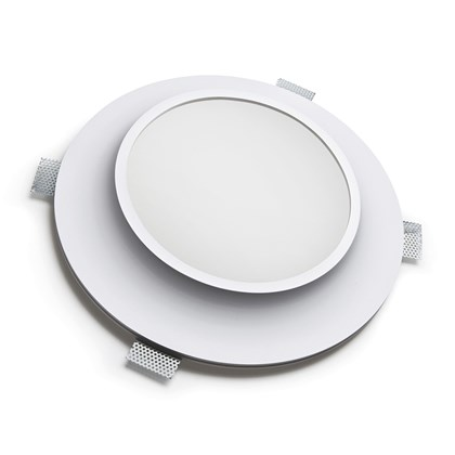 9010 Bolle 4114 Plaster In Recessed 240V Ceiling Light