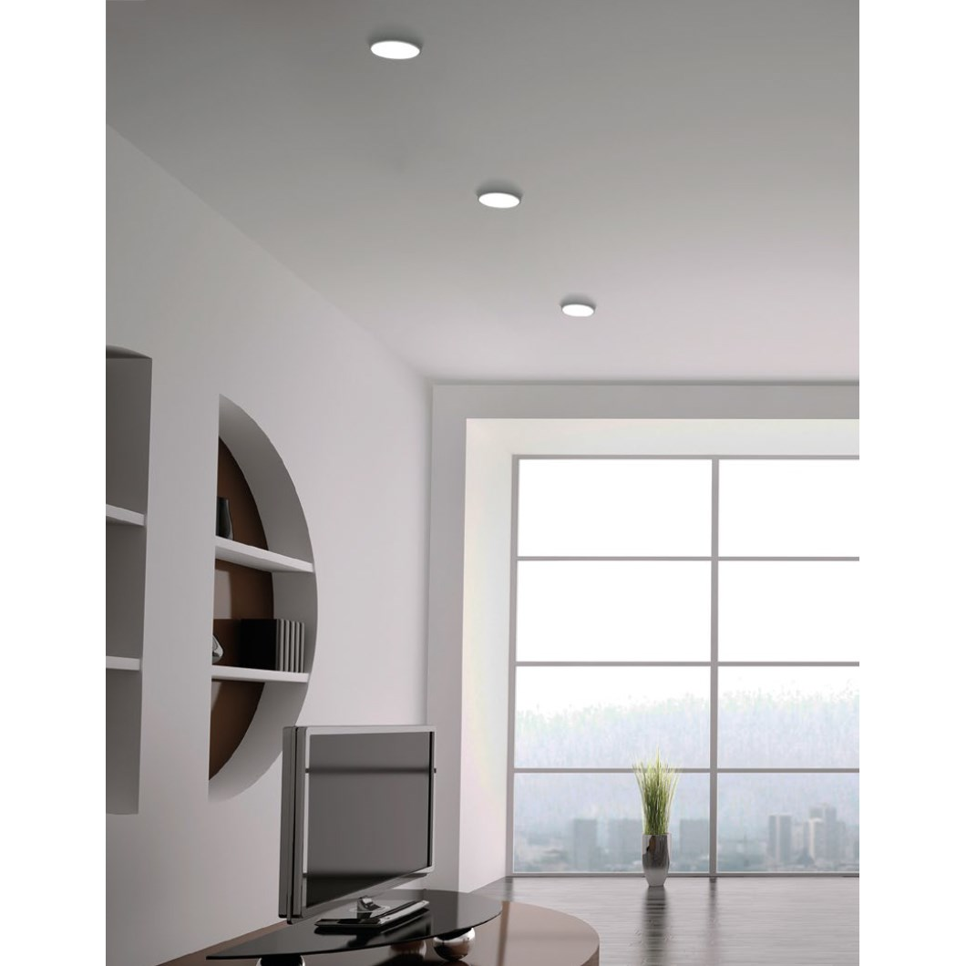 9010 Bolle 4114 Plaster In Recessed 240V Ceiling Light| Image:1