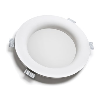 9010 Bolle 4118 Plaster In Recessed 240V Ceiling Light