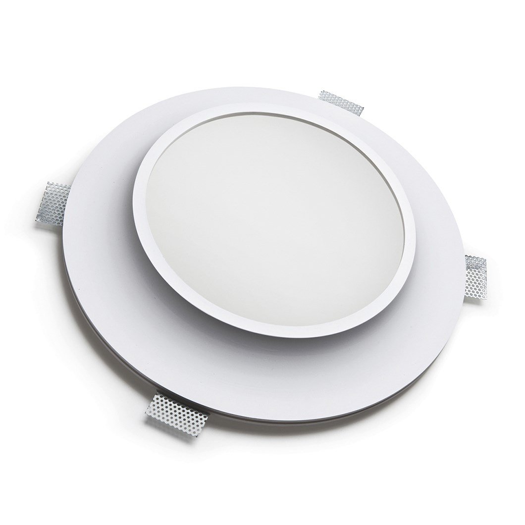 9010 Bolle 4122 Plaster In Recessed 240V Ceiling Light| Image : 1