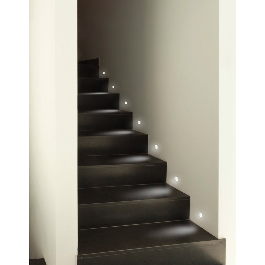 9010 Passi 4198 Plaster In Wall / Step Light| Image:1