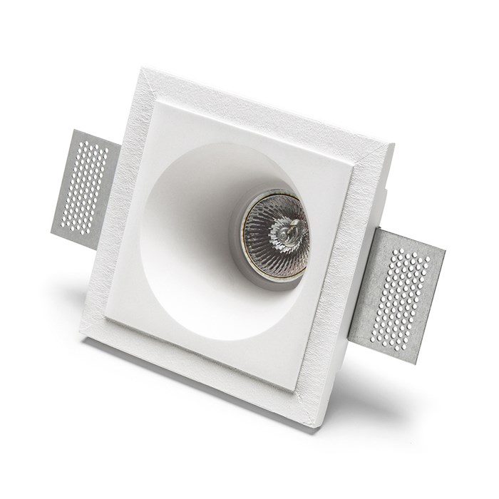 9010 Basic 4174 Plaster In Recessed Ceiling Light | Image:1