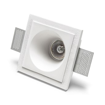 9010 Basic 4174 Plaster In Recessed Ceiling Light