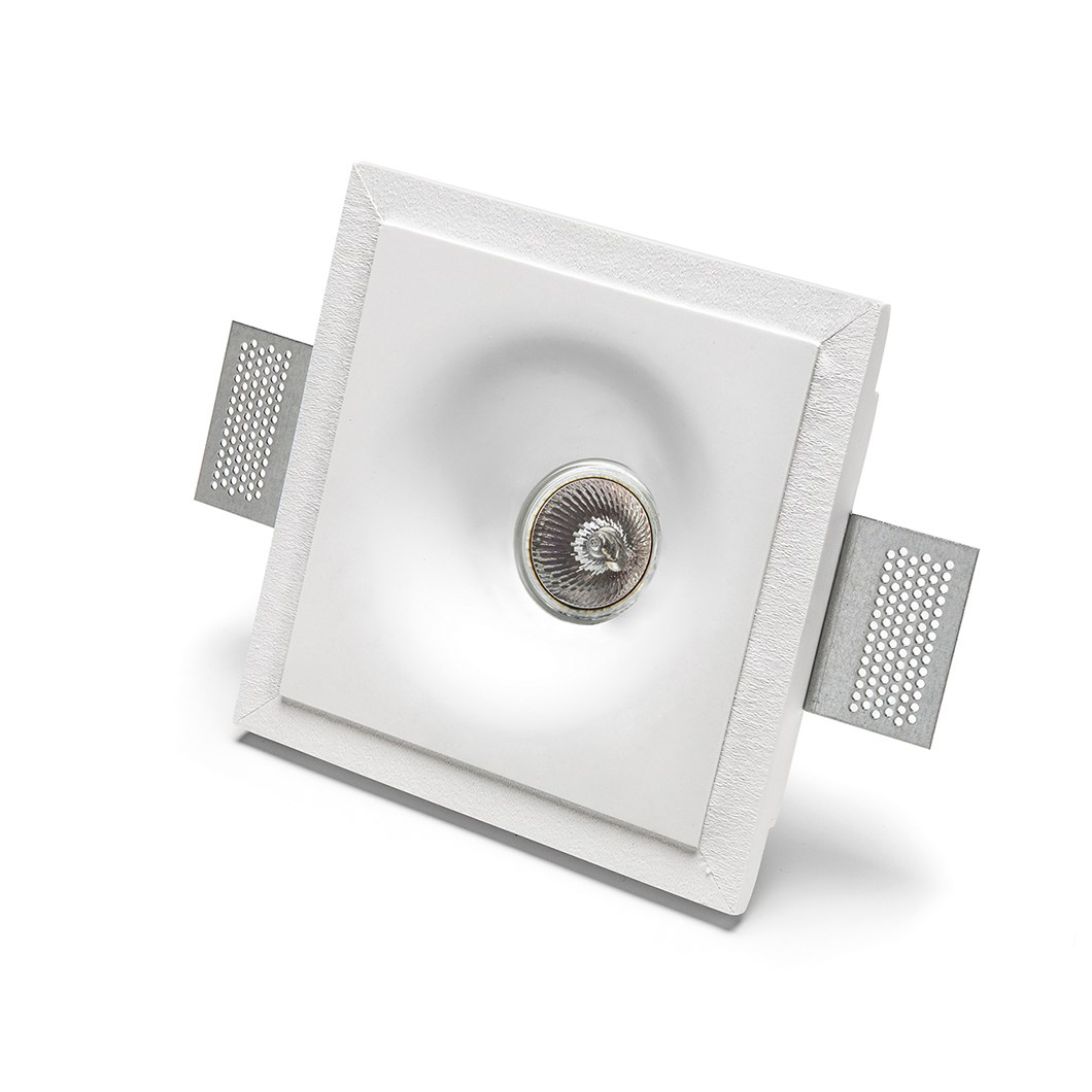9010 Basic 4175 Plaster In Recessed Ceiling Light| Image : 1