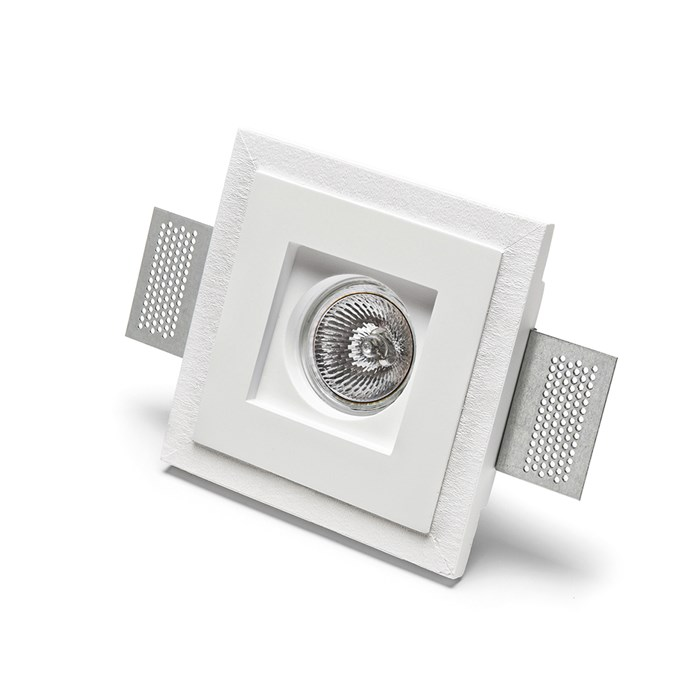 9010 Basic 4176 Plaster In Recessed Ceiling Light | Image:1