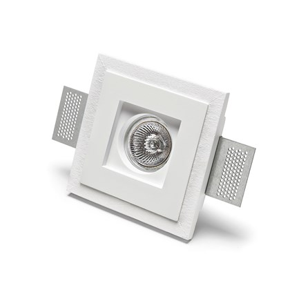 9010 Basic 4176 Plaster In Recessed Ceiling Light