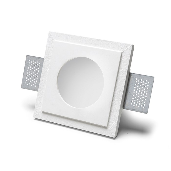 9010 Basic 4177 Plaster In Recessed Ceiling Light| Image : 1