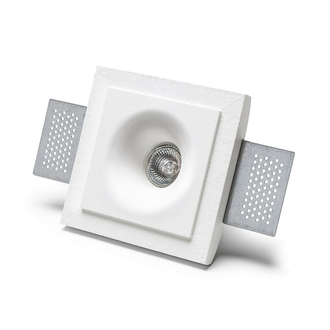 9010 Basic 4275 Plaster In Recessed Ceiling Light | Image:1