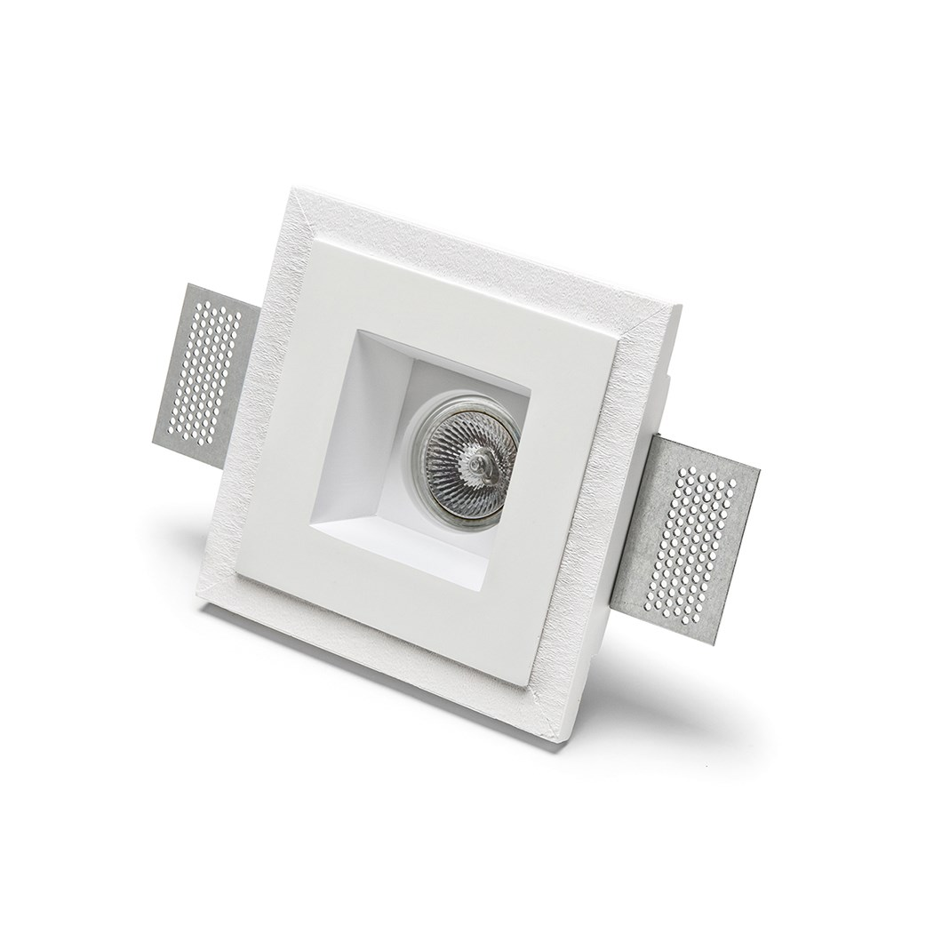 9010 Basic 4180 Plaster In Recessed Ceiling Light| Image : 1