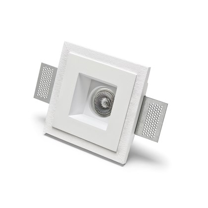 9010 Basic 4180 Plaster In Recessed Ceiling Light