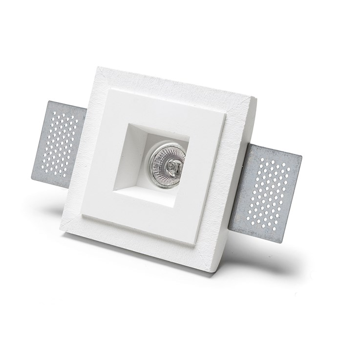 9010 Basic 4280 Plaster In Recessed Ceiling Light | Image:1