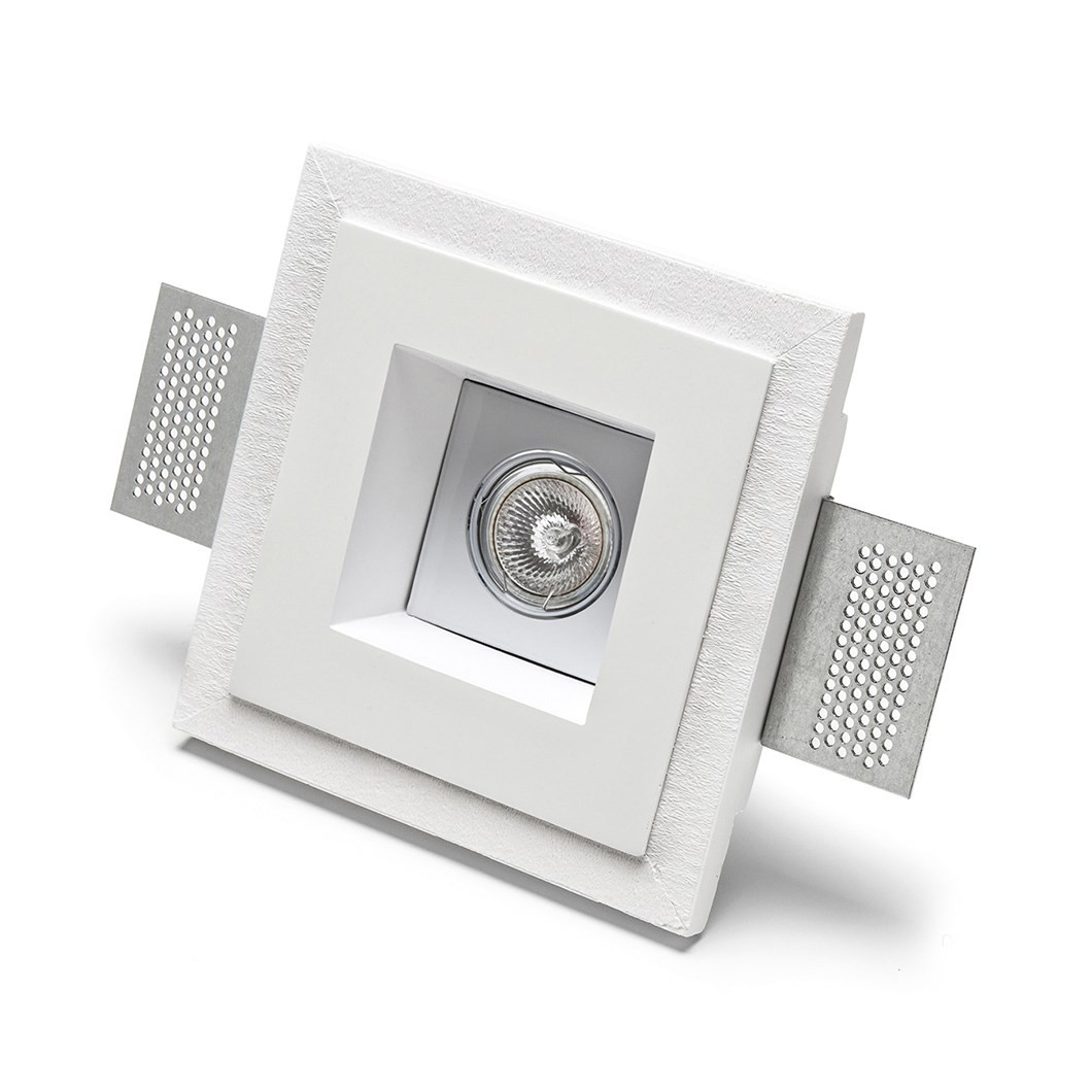 9010 Basic 4183 Plaster In Adjustable Recessed Ceiling Light| Image : 1