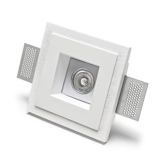 9010 Basic 4183 Plaster In Adjustable Recessed Ceiling Light