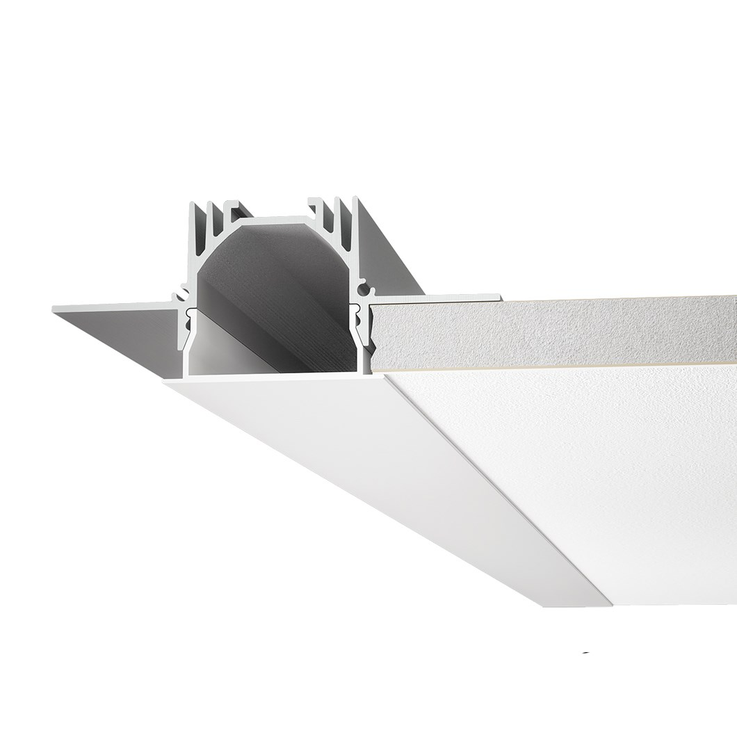 9010 Profili P001 Recessed Trimless Linear LED Profile| Image : 1