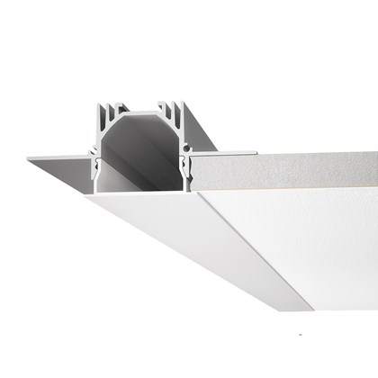 9010 Profili P001 Recessed Trimless Linear LED Profile