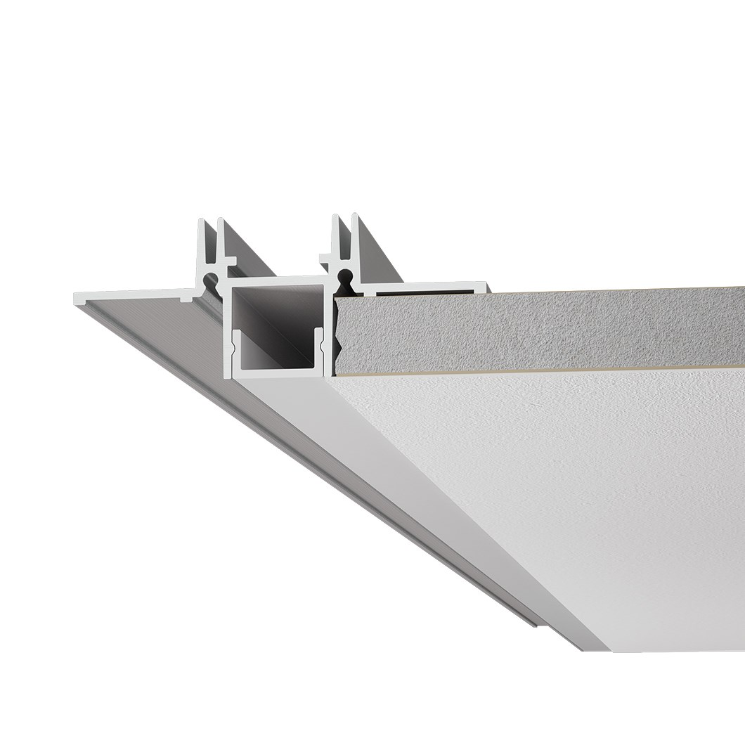 9010 Profili P002 Plaster In Linear LED Profile| Image : 1