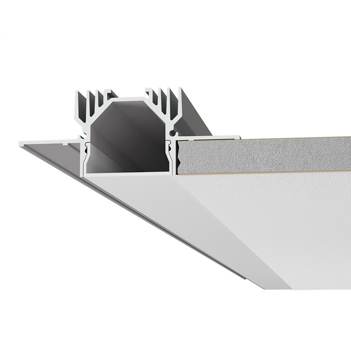 9010 Profili P003 Plaster In Linear LED Profile| Image : 1