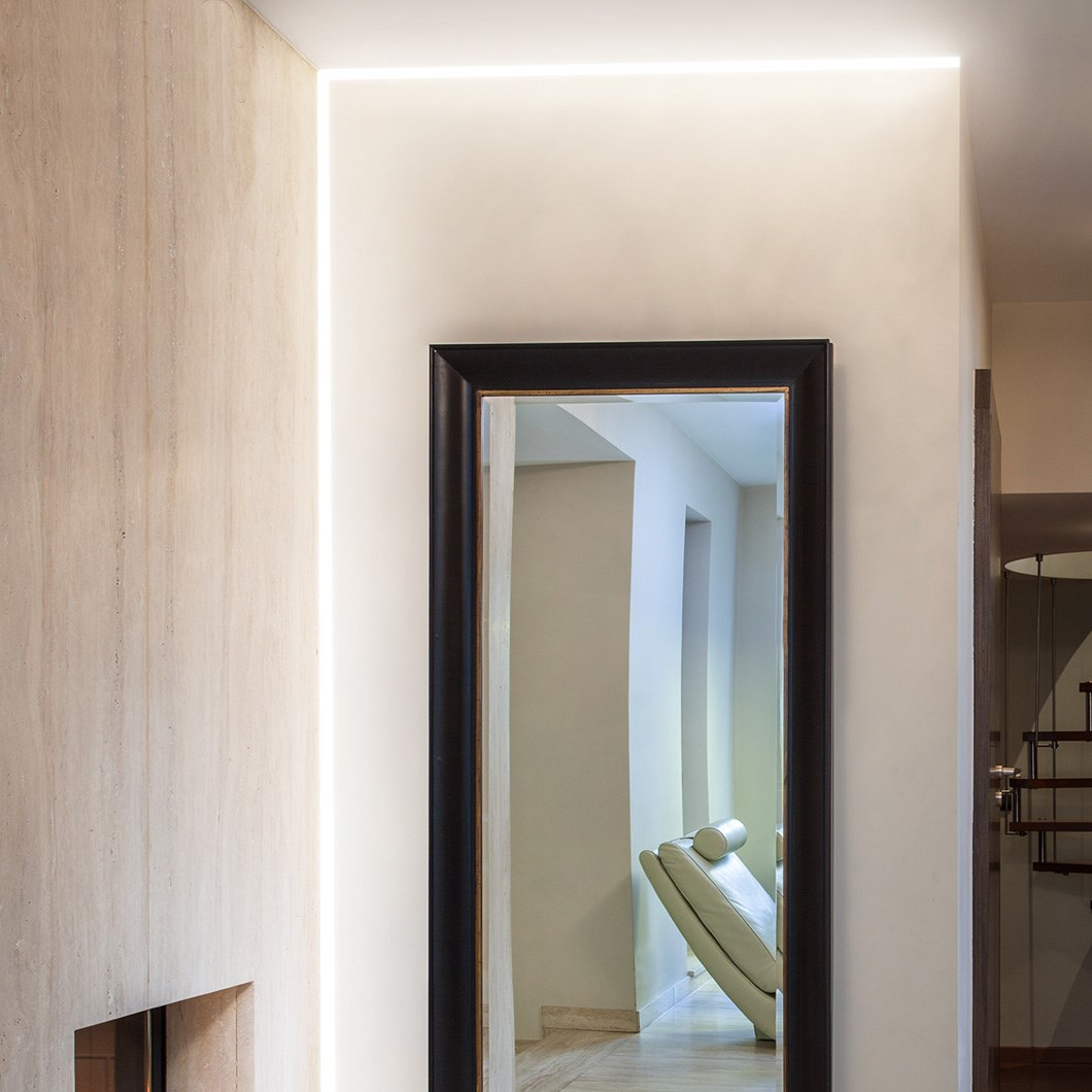 9010 Profili P007 Plaster In Linear LED Profile| Image:1