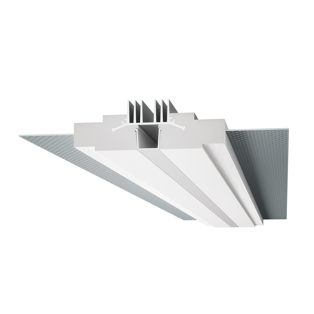 9010 Profili 4189 Plaster In Linear LED Profile| Image : 1