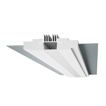 9010 Profili 4190 Plaster In Linear LED Profile