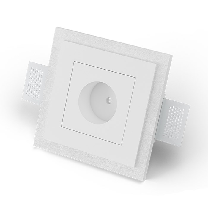 9010 5505C Plaster In Recessed Ceiling Rose| Image : 1