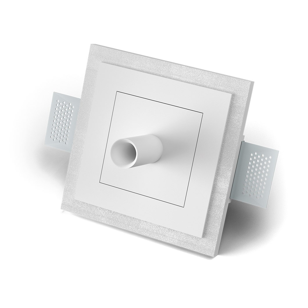 9010 5505E Plaster In Recessed Ceiling Rose | Image:1