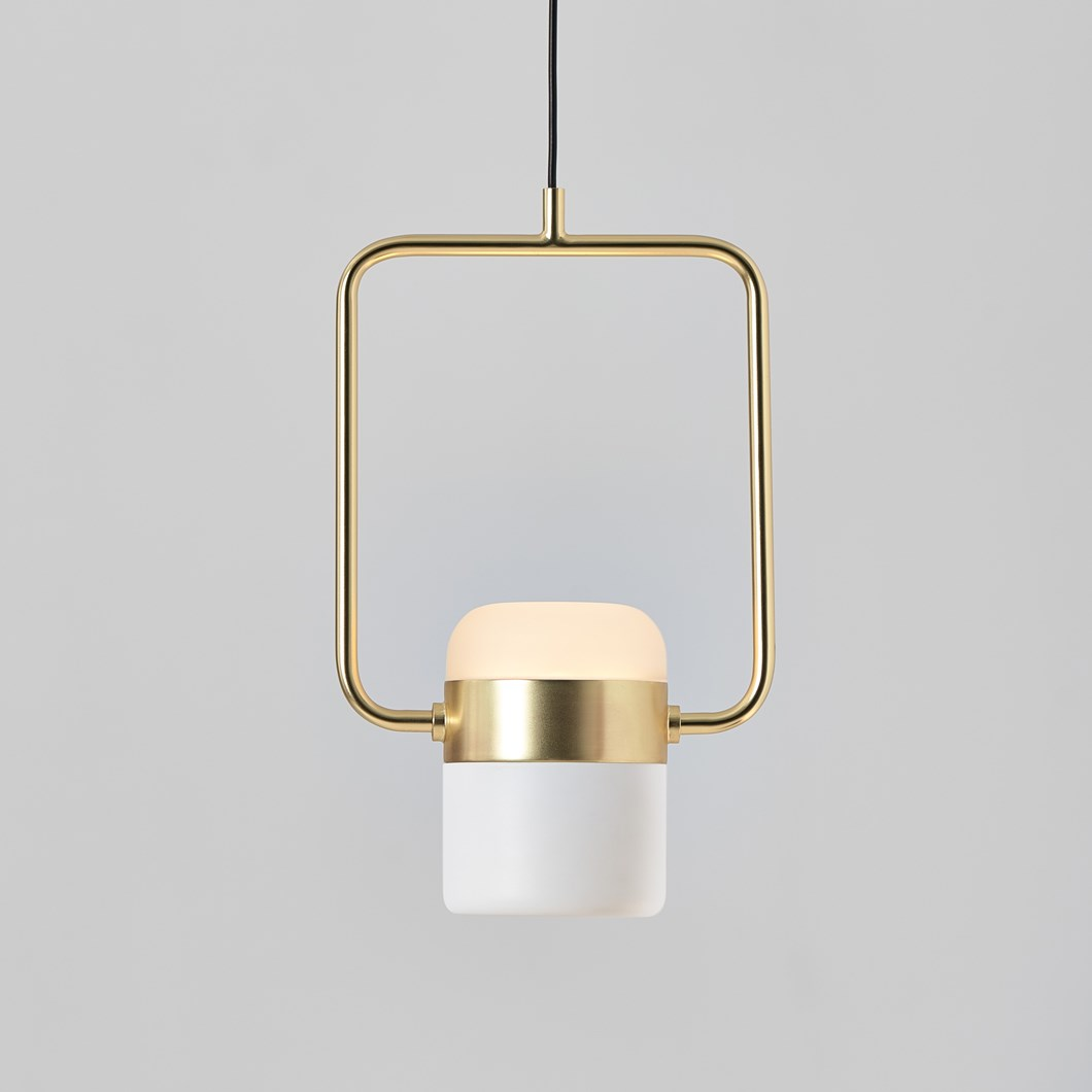 Seed Design Ling P1 V LED Brass Pendant - Next Day Delivery| Image : 1