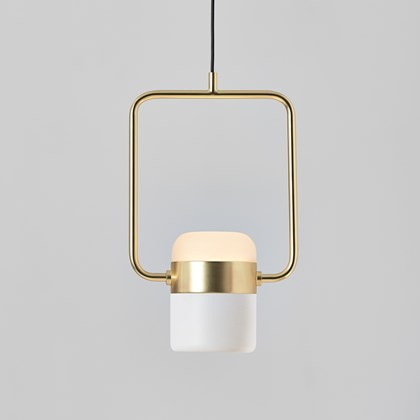 Seed Design Ling P1 V LED Brass Pendant - Next Day Delivery