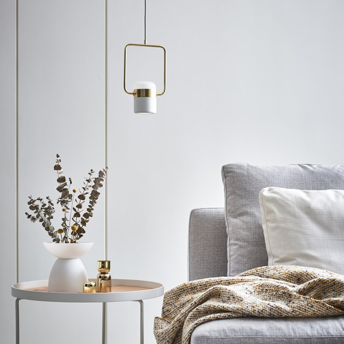 Seed Design Ling P1 V LED Brass Pendant - Next Day Delivery| Image:1