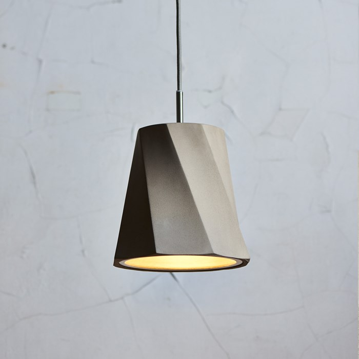 Seed Design Castle Swing Small Concrete Pendant - Next Day Delivery| Image : 1
