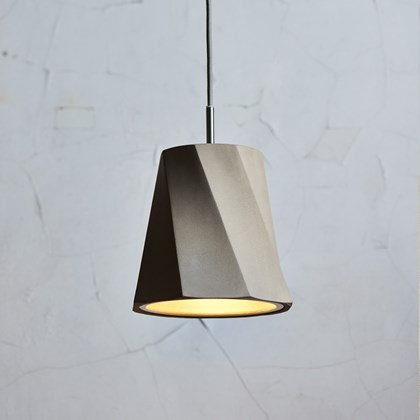 Seed Design Castle Swing Concrete Pendant - Next Day Delivery