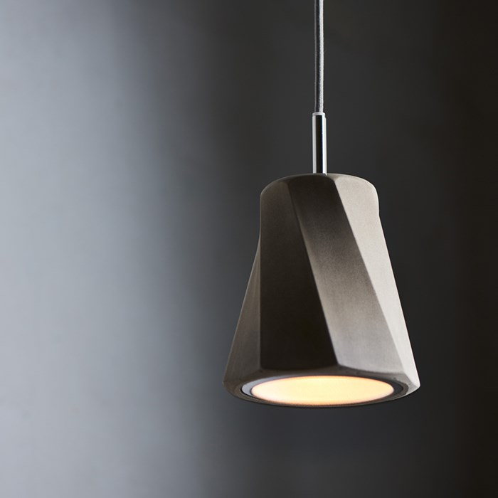 Seed Design Castle Swing Small Concrete Pendant - Next Day Delivery| Image:1