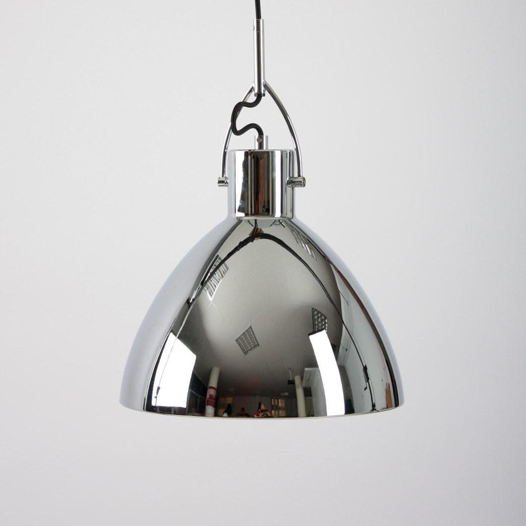 Seed Design Laito Large Chrome Pendant Next Day Delivery