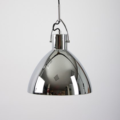 Seed Design Laito Large Chrome Pendant - Next Day Delivery