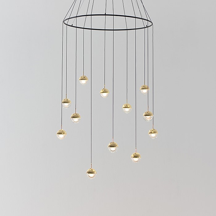 Seed Design Dora LED Multiple Drop Pendant| Image:1
