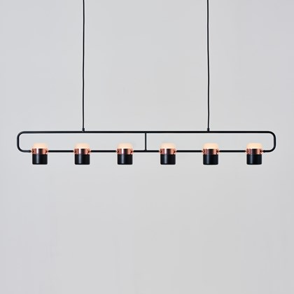 Seed Design Ling PL6 Multiple LED Pendant - Next Day Delivery