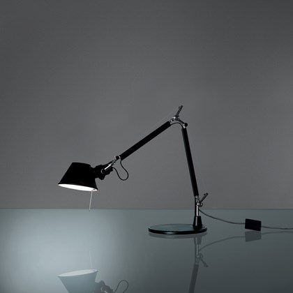 CLEARANCE Artemide Tolomeo Micro Desk Lamp Black