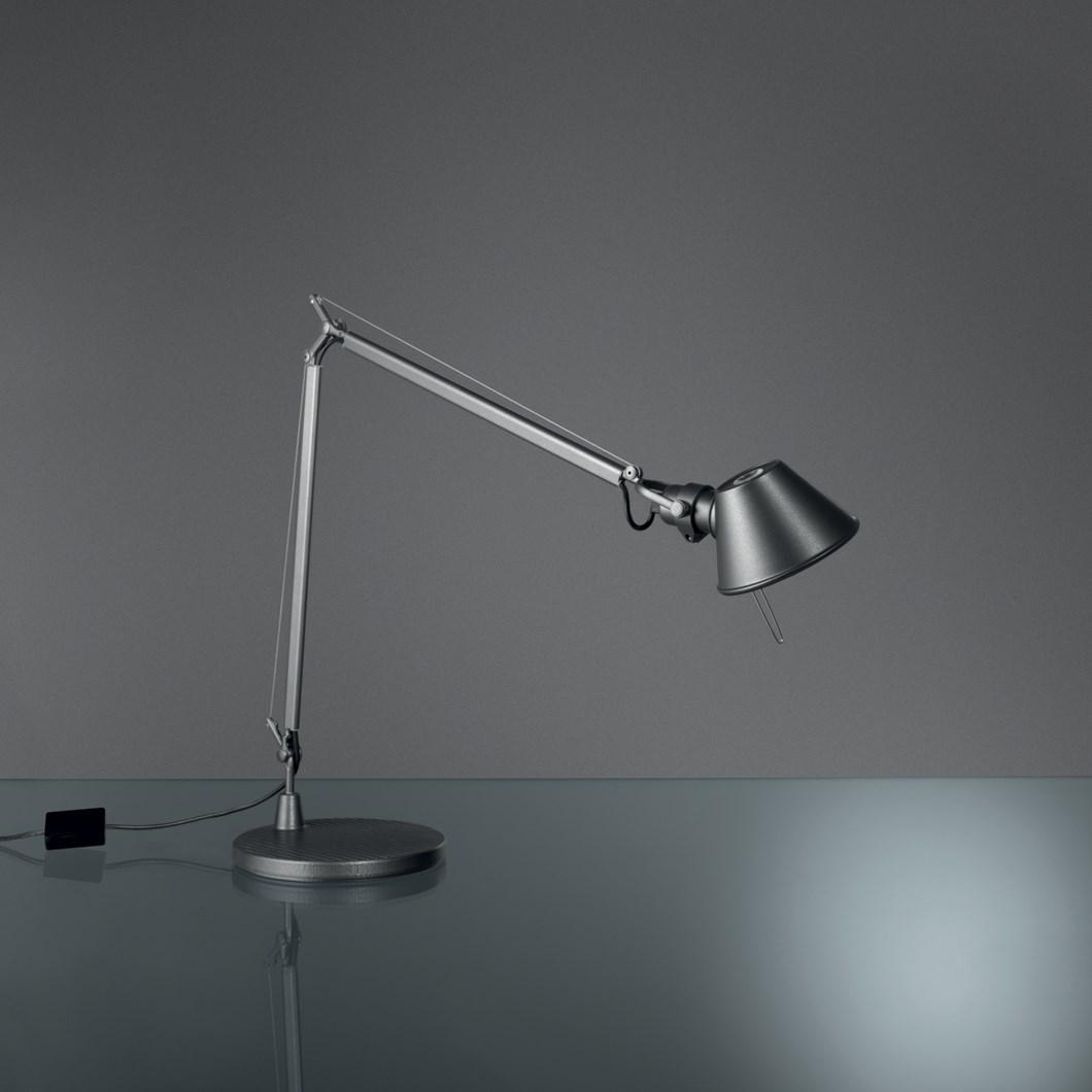 Clearance Artemide Tolomeo Micro Desk Lamp Aluminium