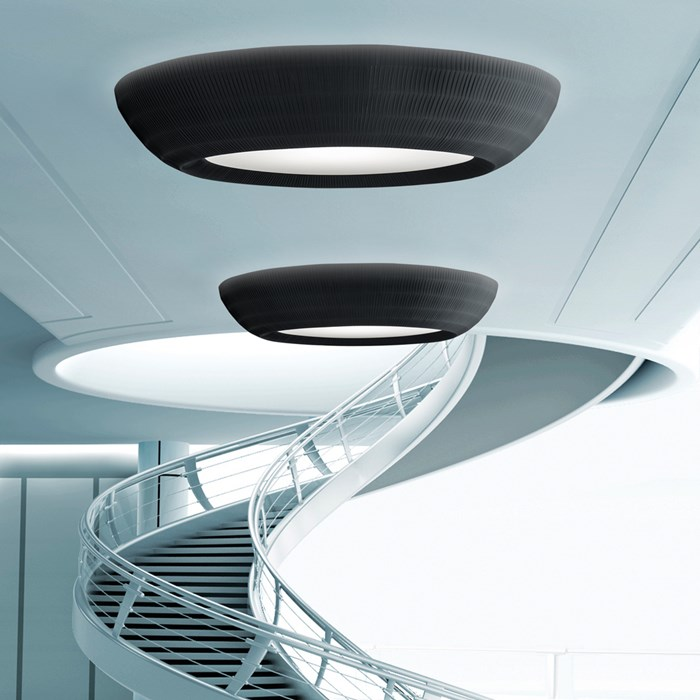 Axo Light Bell Flat Ceiling Light| Image : 1