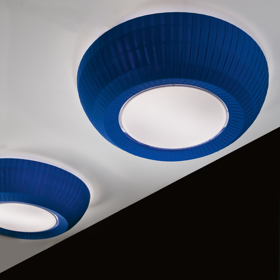 Axo Light Bell Flat Ceiling Light| Image:1